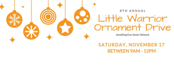 Little Warriors 2018 Ornament Drive FB Header